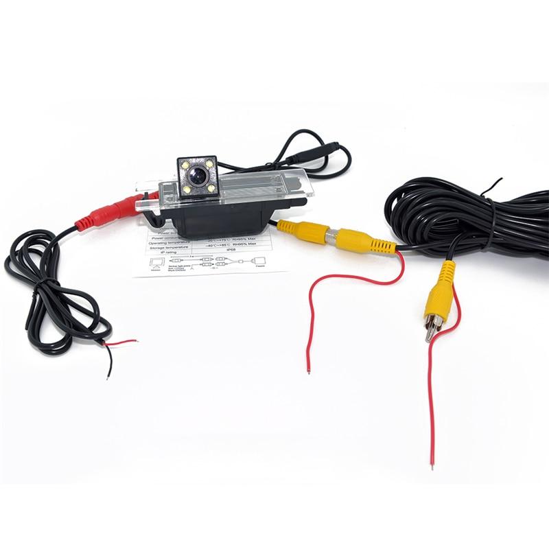 4 LED HD CCD auto achteruitrijcamera Camera achteruit voor OPEL - Auto-elektronica - Foto 6