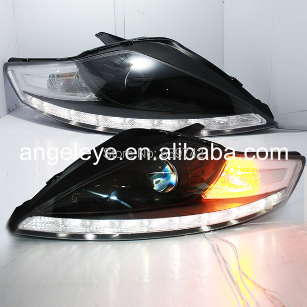 For FORD Mondeo LED Head Lamps Projector Lens 2007 to 2012 year JY Style redpower 21003 ford mondeo серый