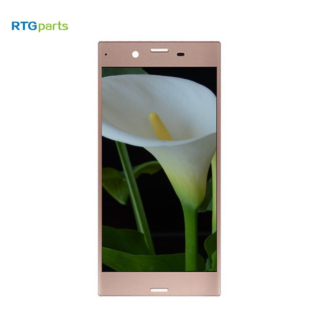 RTGparts IPS LCD capacitif écran tactile numériseur assemblée pour Sony Xperia XZ F8331 F8332