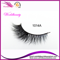 High Quality Real Mink Fur Lashes Authentic Mink Fur Lashes1014A