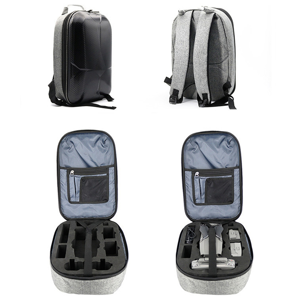 Waterproof Hard Shell Carrying Bag Case for DJI MAVIC 2 Drone Body Battery Charger Remote & Accessories Anti-Shock Backpack 2br06520 2f906240 2f906230 pickup roller tire pickup rubber for kyocera fs1028 1035 1100 1120 1128 1300 1320 1370 2000 3900 4000