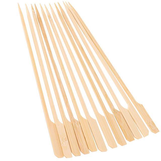 30 pz Barbecue Aste e Sganci rapidi di Bambù di Bambù Aste e Sganci rapidi di Le