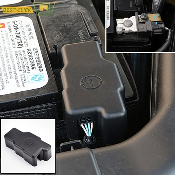 For Renault Koleos II MK2 Kadjar Samsung QM6 2015 2016 2017 2018 Car Engine Battery Anode Negative Pole Protector Cover Frame image