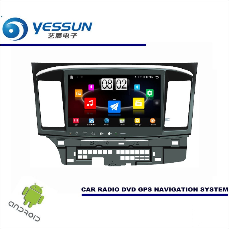 Yessun автомобиля Android мультимедийный плеер для Mitsubishi Lancer EX 2007 ~ 2017-Радио стерео GPS nav Navi (без CD DVD) 10 HD Экран