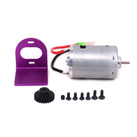 1Set Adjustable Motor Amount + 540 Motor w/Fan For Rc Hobby Model Car 1/18 Wltoys A959 A969 A979 K929 Cooling Fan
