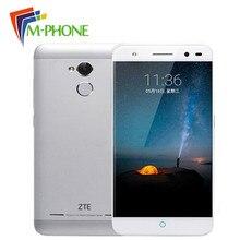 Оригинал ZTE Blade A2 мобильный телефон 5.0 «MT6750 Octa Core 1.5 ГГц 2 ГБ Оперативная память 16 ГБ Встроенная память Android 5.1 13MP Камера отпечатков пальцев Touch ID