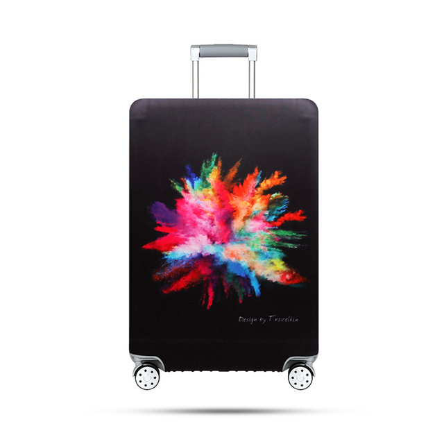 Travel Thicken Elastic Suitcase Covers Waterproof Luggage Protective Case Dustproof Wear