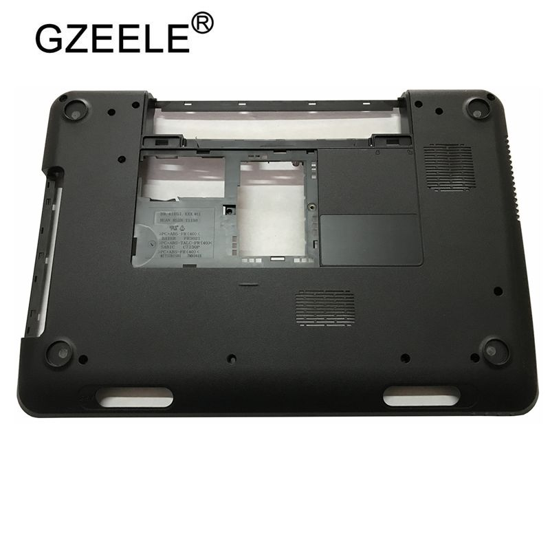 GZEELE NEW Laptop Bottom Case Base Cover For DELL Inspiron 15R N5110 M5110 Replacement 39D-00ZD-A00 005T5 0005T5 4PVH5 04PVH5