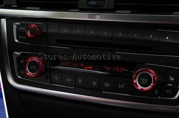 Pour BMW X5 E70 climatisation intérieure bouton cache garniture 2009-2013 3 pièces 1 commande