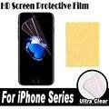 Pantalla hd protector de pantalla transparente película protectora suave para apple iphone 7 6 6 Más 5 5C 5S SÍ 4 4S Reloj 42mm 38mm Touch 6 5