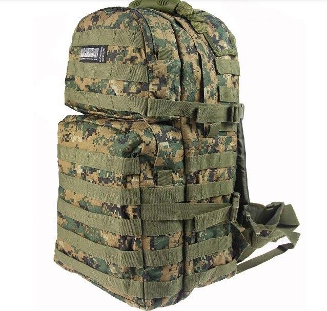 2c716a88035a Армия нападение пакет тактический рюкзак сумки любителей путешествия рюкзак  пешие прогулки поставляет военные фанаты спортивная сумка