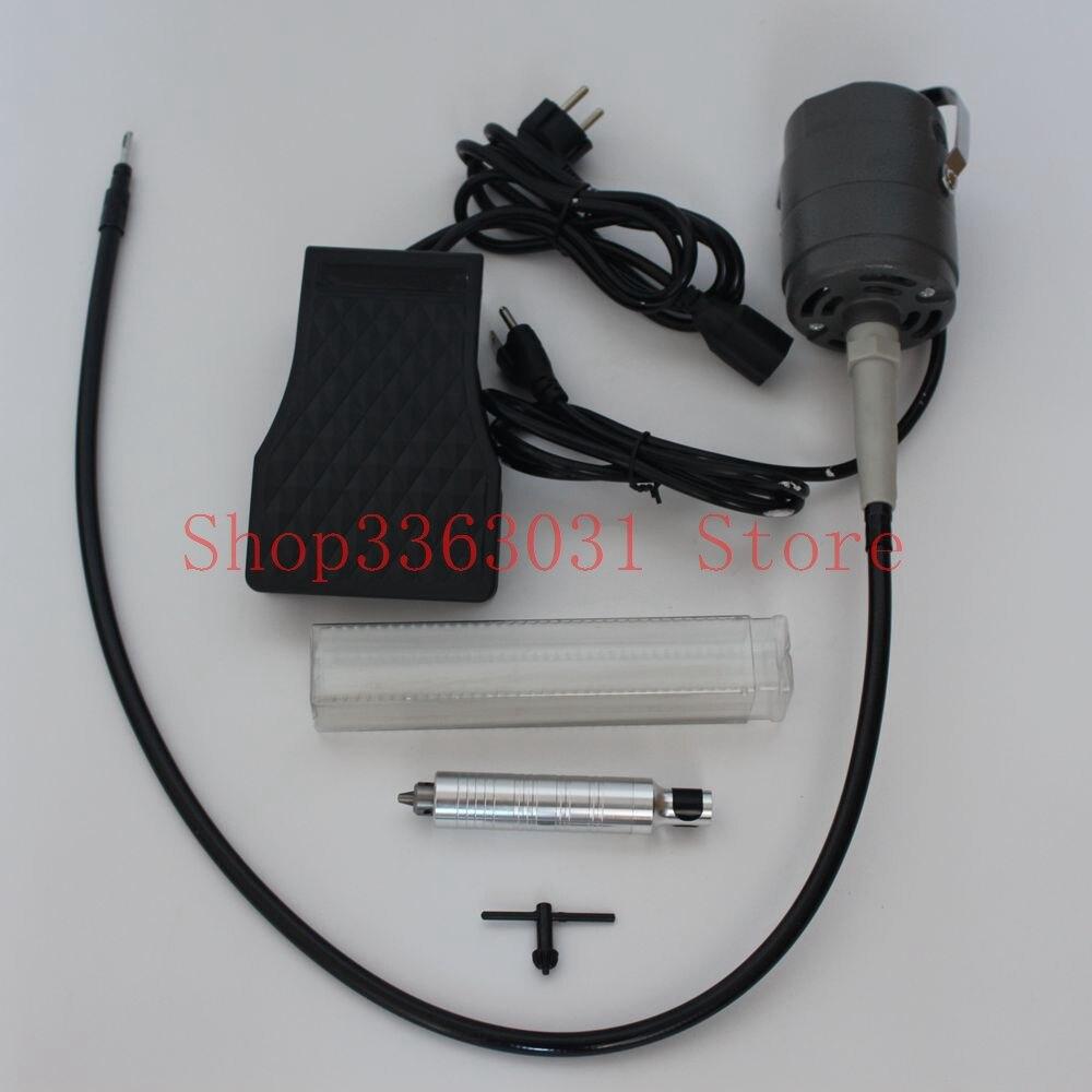 CC30 Flex arbre moteur orfèvre polissage moteur pour bijoux outils et équipement - 4