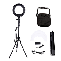 12 inch 180pcs LED 5500K Dimmable Photography Video LED Photo Ring Light Kit for DSLR Camera