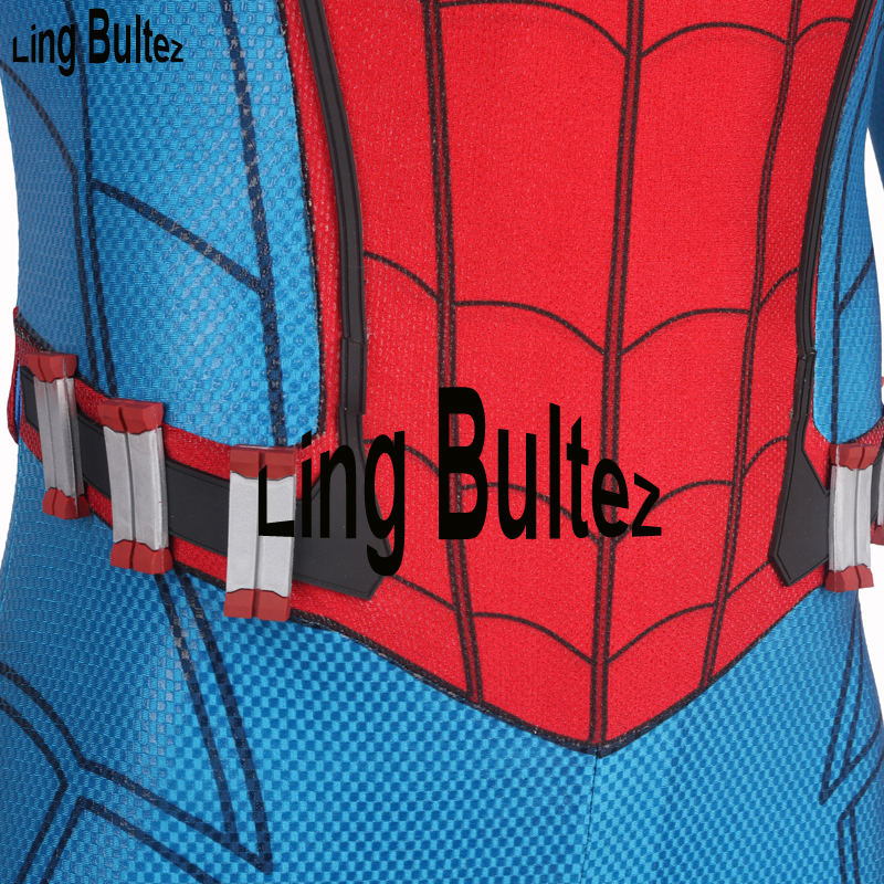 Ling Bultez High Quality Homecoming Spiderman Cartridges Spiderman Costume
