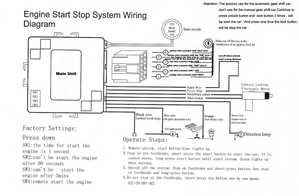 Car Alarm Wiring Product : 24 Wiring Diagram Images