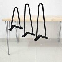 Ters üçgen V ev masa masası bacak basit masa ayağı modern mobilya 4/12/16 inç ev aksesuarları