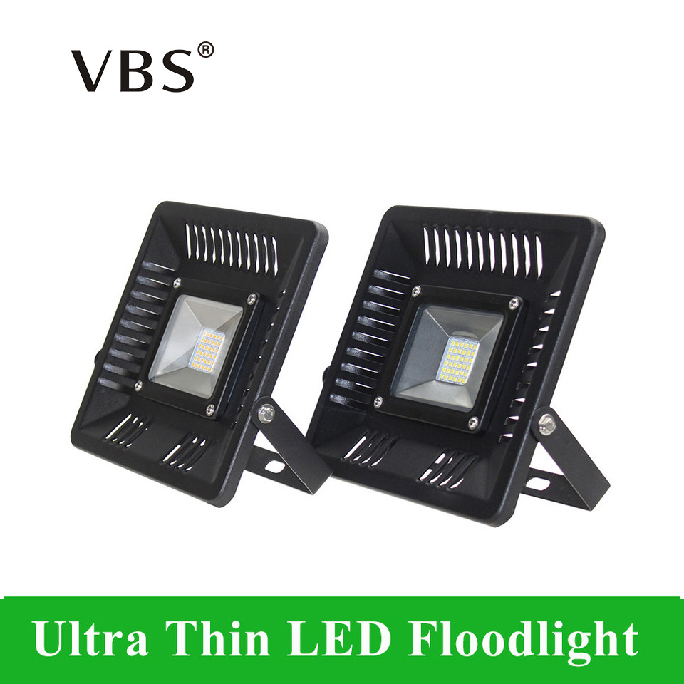 Ultrathin 30W 50W 100W LED Floodlight IP65 Waterproof Outdoor Garden Warm/Cold White Flood Light AC200-240V