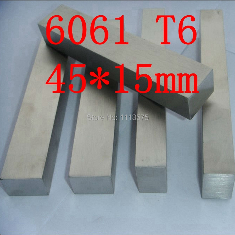 45mm x 15mm Aluminium Flat Bar,45*15mm,width 45mm,thickness 15mm,6061 T6 80mm x 30mm aluminium flat rectangular bar 80 30mm width 80mm thickness 30mm 6061 t6