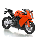 KTM 1190 RC8 model 1:12 scale metal diecast models motor bike miniature race Toy For Gift Collection