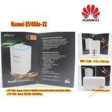 Anten ile 4G LTE Unlocked Orijinal Huawei E5180 E5180as-22 Küp WiFi Hotspot Yönlendirici Ev kablosuz Yönlendirici sim kartı ile yuvası