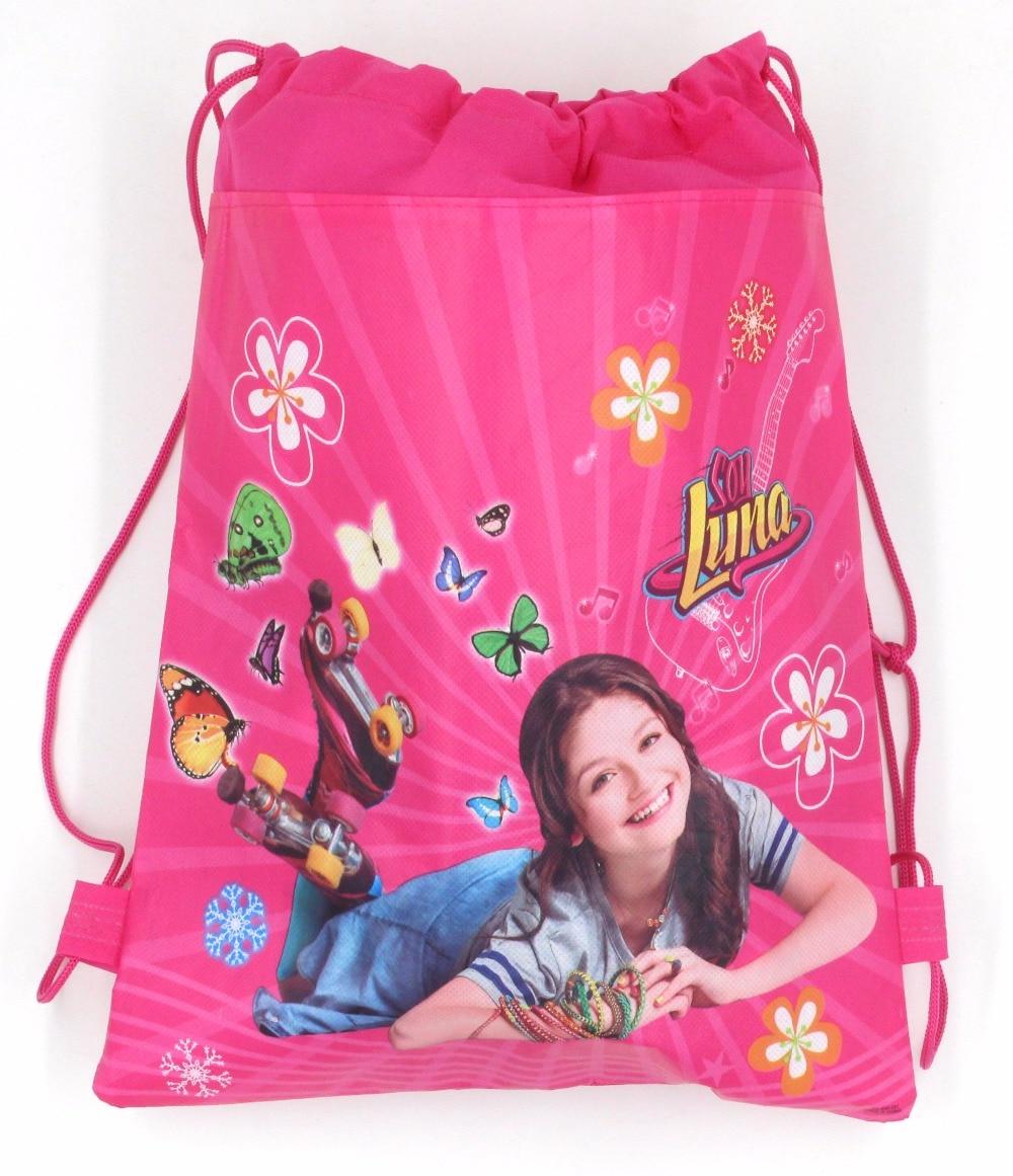 1pcs Cartoon soy luna romance woven childrens birthday party gift bag candy bag Bundle pocket