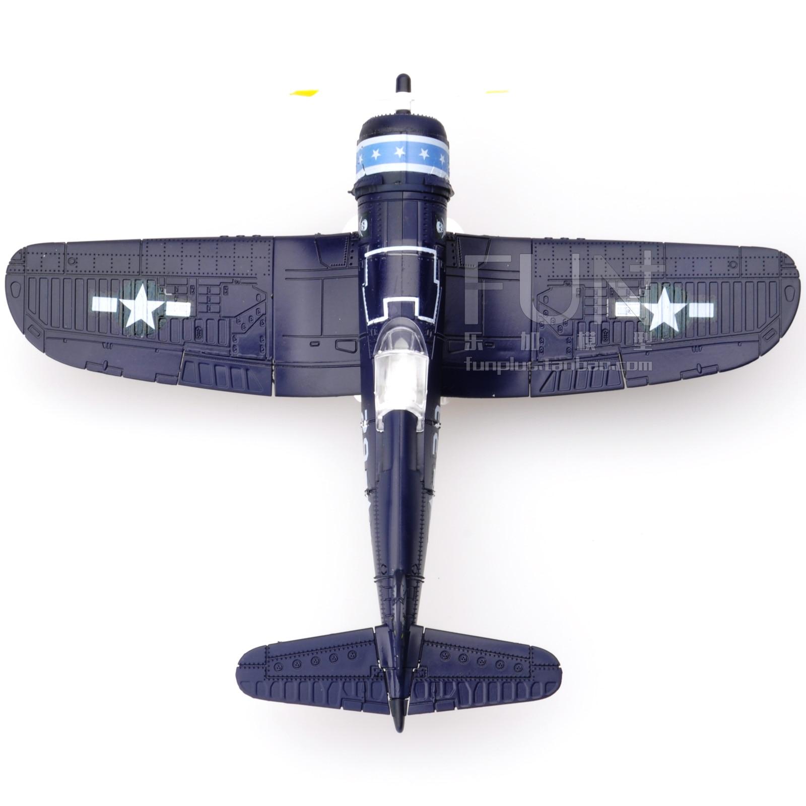 1:48 Assembled Puzzle F4U Aircraft Model Simulation Military Toy Collection1:48 Assembled Puzzle F4U Aircraft Model Simulation Military Toy Collection
