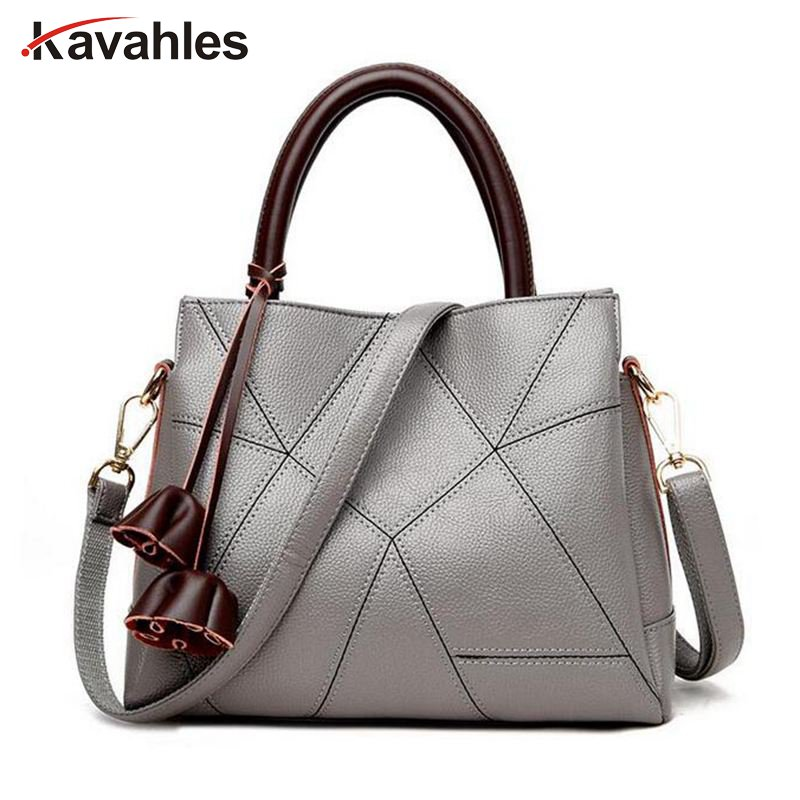 Fashion patchwork designer cattle split leather bags women handbag brand high quality ladies shoulder bags women bag PP-709  2017 new famous designer brand bags women cattle split leather ladies fashion handbag gray tote bags hasp shoulder bags hd651118