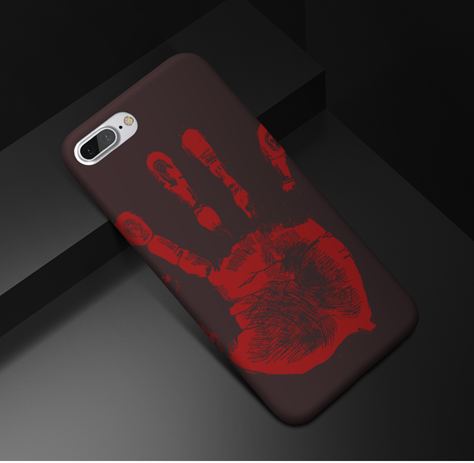 FLOVEME Thermal Discoloration Protective Phone Case For iPhone 7 7 Plus Ultra Thin Soft Silicone Back Cover For iPhone 6 6S Plus (14)