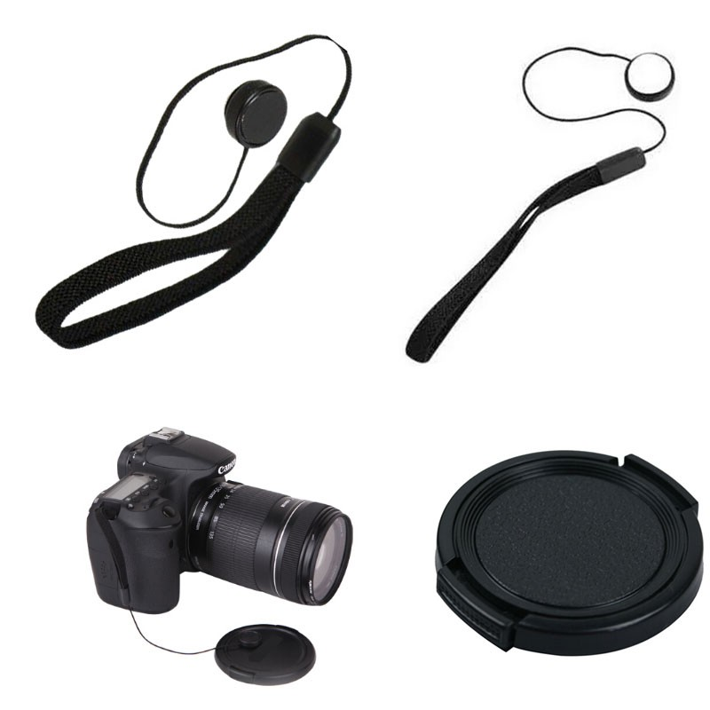 100% Professional 55mm uv cpl fld Filter Lens Hood & Cap Camera cleaning kit for nikon canon 6