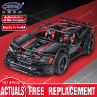 XingBao 07003 Creative Technic Series The 2015 Assassin X19 Set compatible Legoing MOC Car Building Blocks Toy for Children