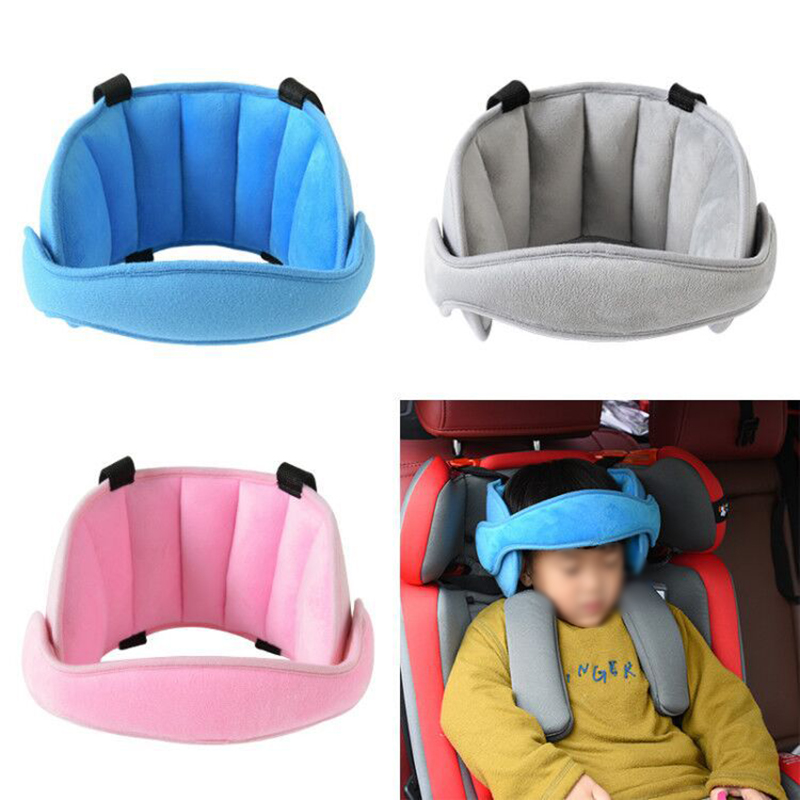Child Seat Head Supports Baby Head Fixed Sleeping Pillow Kid Neck Protection Car Safety Playpen Headrest Adjustable Sleep Pad