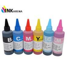 Чернила для принтера Epson Stylus Photo T50 R290 R295 R390 RX590 RX610 RX615 RX690 1410 TX650 TX659, чернила для красителя 100 мл в бутылке