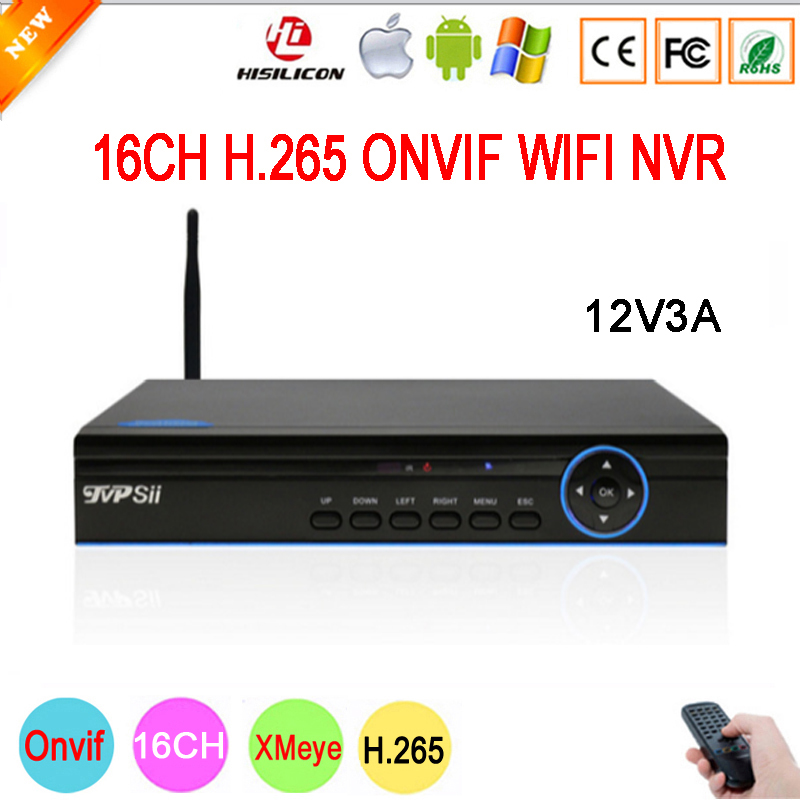 5mp/4mp/3mp/2mp/1mp IP Camera Blue Panel Hi3536D XMeye 1CH RCA Audio H.265 5mp 16CH 16 Channel Onvif IP WIFI NVR Free Shipping цены