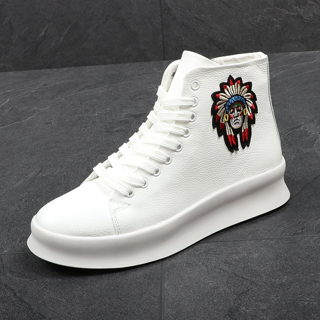 Men's New Fashion High Top Casual Shoes