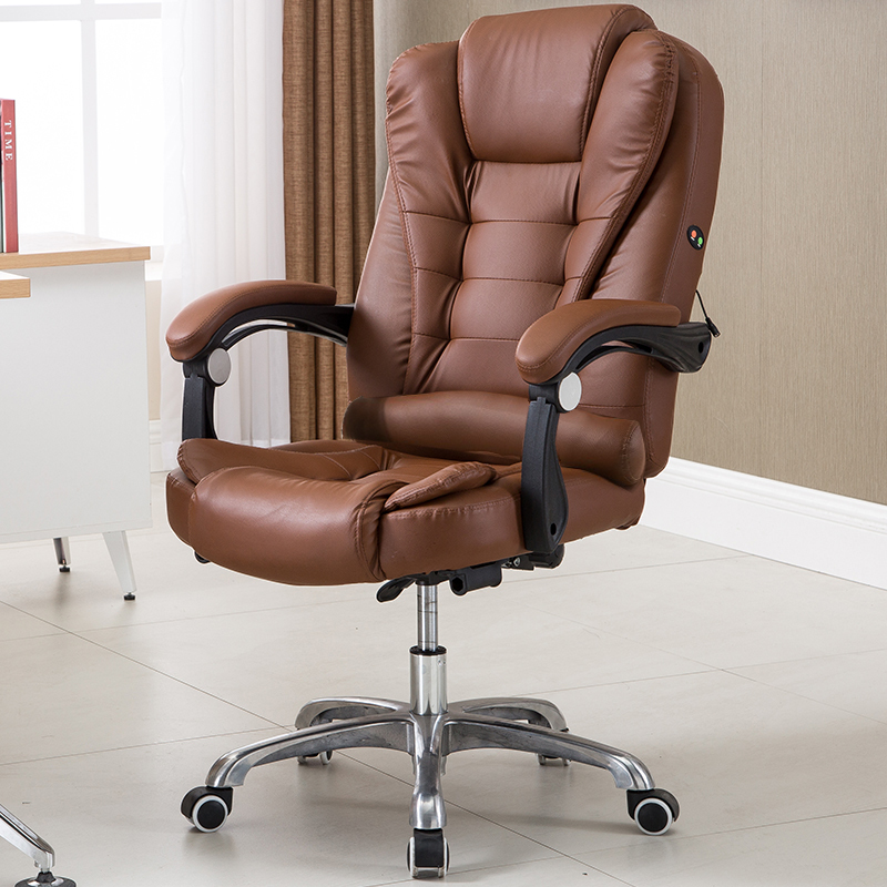 PI# 3239 Computer home office leisure chair can lay boss swivel lifting leather footrest multi point massage to lay the boss chair lift usb charging massage chair swivel chair foot chair