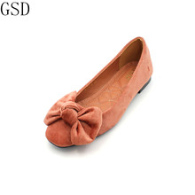 hot deal buy fashion  women's shoes -gs 183-6 comfortable flat shoes  new arrival   flats shoes large size shoes women  flats
