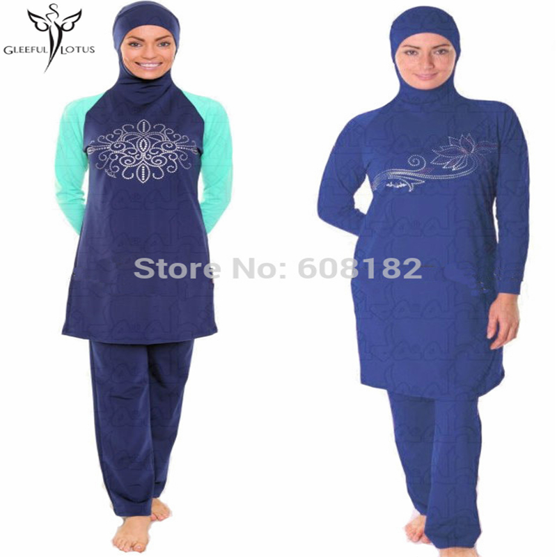 d55abc74694 Muslim Women Swimwear Islamic Swimsuit Adult Arab Beach Swimsuits For Muslim  women Islamic Clothing Arabic hijab swimsuit
