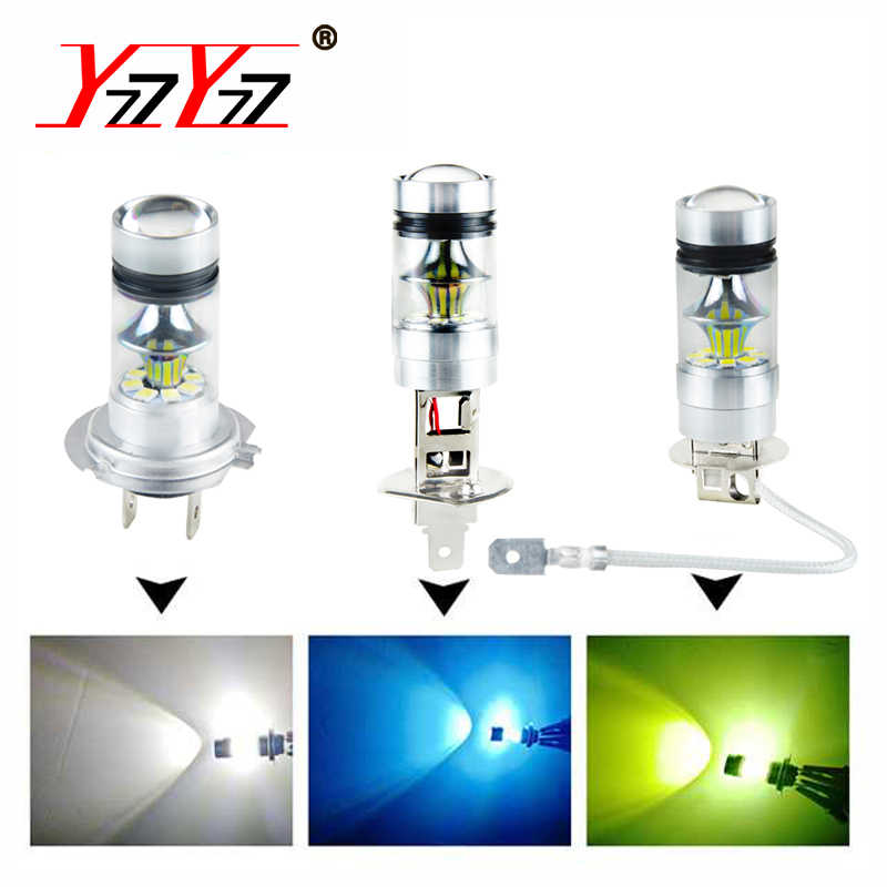 Detail Feedback Questions about YzzYzz H7 LED Car Fog Lamp H1 H3 H11