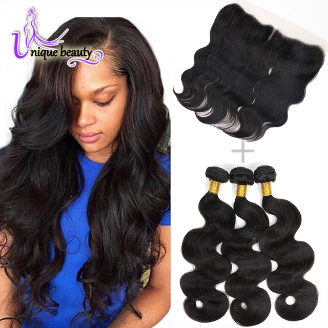 Top Quality 8a Lace Frontal Closure Weave With Bundles Queen Hair