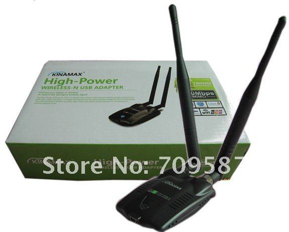 KINAMAX HIGH POWER WIRELESS-N USB ADAPTER TREIBER WINDOWS XP