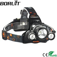 6000Lm Rainproof CREE XML T6 Rechargeable LED Headlight Headlamp Head Lamp Ligh For Bicycle Camping Hiking