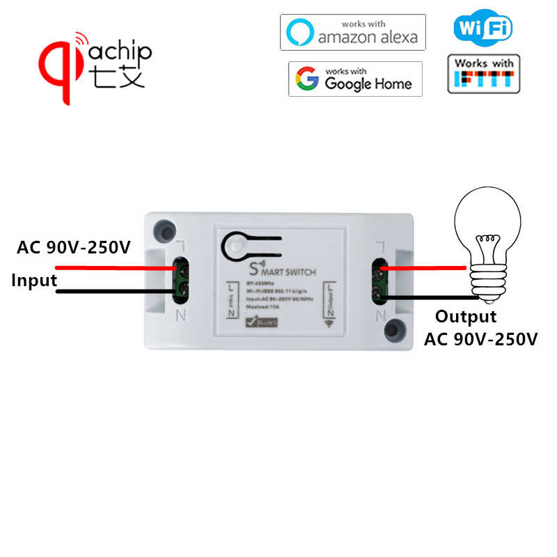 Detail Feedback Questions about QIACHIP 433Mhz RF Relay Module DC