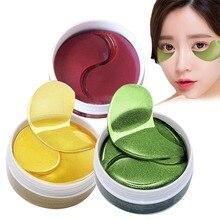 EFERO 60 шт., профессиональная коллагеновая маска для глаз, для лица, против морщин, гель для сна, Золотая маска, патчи для глаз, мешки для глаз, темные круги, накладки для глаз