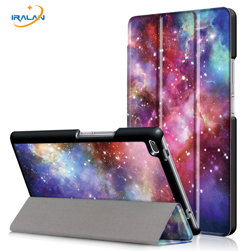 2017 New released PU Leather Case for Lenovo Tab 4 8 TB-8504F TB-8504N 8.0 inch tablet stand Protective cover+screen film+stylus new print pu leather case for lenovo tab