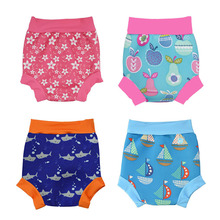 New Fashion Baby Trunks Boys  Girls Briefs Swimming Cartoon Kids Swimwear Swim