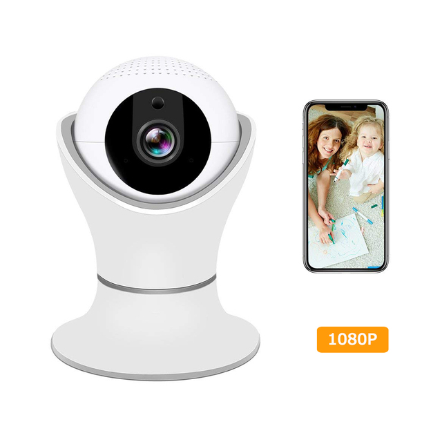 TYiYewh ID22 IP Camera CCTV WIFI Wireless Camera HD 1080P Home PTZ Security Camera Night Vision Two Way Audio Motion Detection