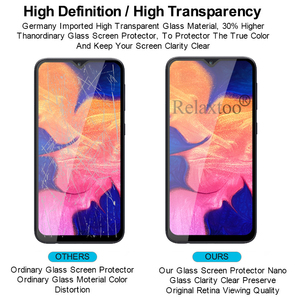 Image 4 - 2pcs tempered glass For samsung galaxy a10 protective glass on the sumsung samsun a 10 10a a105 a105F sm 105F screen protector