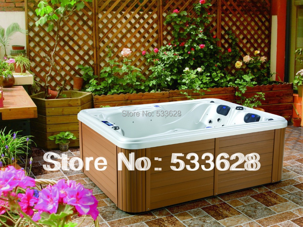 3802 2 person portable hot tub outdoor spa for sale in for Casa jardin wellness center