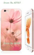 Mobile Phone Cases 2016 flower beauty Hybrid Design Plastic White Hard Case For iphone 6 6s