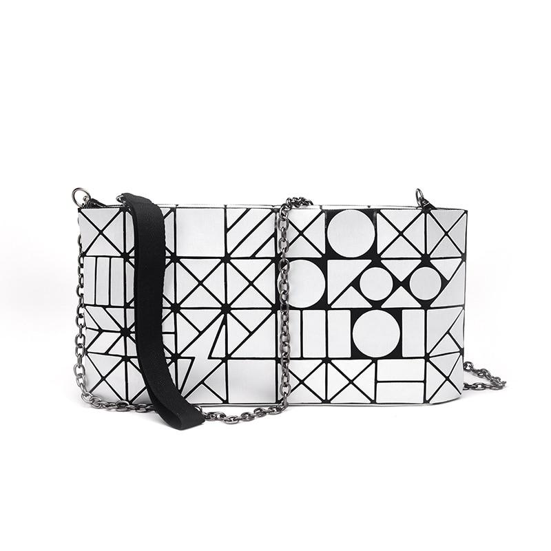 Bao Bao Issey Miyake Women Bag Luxury Brand 2017 Obag Geometric Sequins Kors Handbag Mim Crossbody